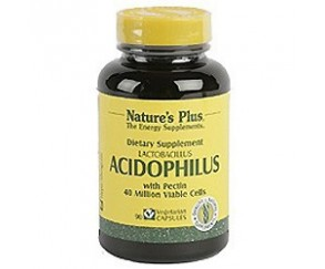Acidophilus 90 caps. NATURES PLUS